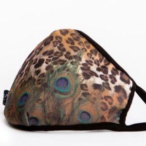 BEST SELLER Leopard Peacock Fashion Face Mask